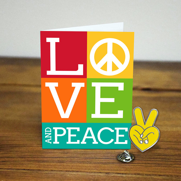 Love & Peace Pin