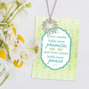 Promise Peace Necklace