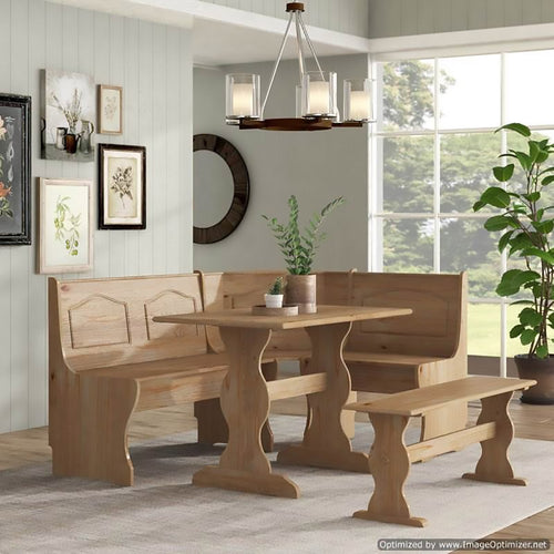 Finish Touch Furniture Dining Table - Muebles Para Cocina, Table setting, wooden table
