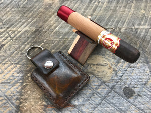 Leather Carry Case for X-Caliber Cigar Stands