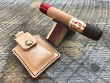 Load image into Gallery viewer, Leather Carry Case for X-Caliber Cigar Stands