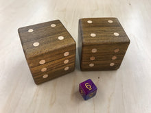 Load image into Gallery viewer, Bolivian Coffeewood Dice