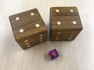 Bolivian Coffeewood Dice