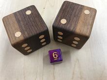 Load image into Gallery viewer, Black Walnut Dice