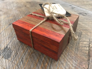 Coasters  - Black Walnut & Padauk (Set of 4)