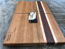 Load image into Gallery viewer, Cutting Board  - Cherry, Black Walnut, Maple & Padauk (Large)