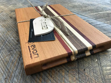 Load image into Gallery viewer, Cutting Board  - Cherry, Black Walnut, Maple & Padauk (Small)