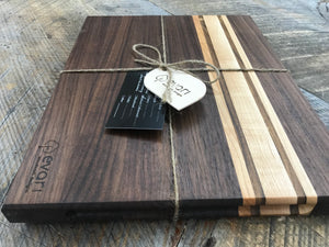 Cutting Boards  - Black Walnut, Maple & Bolivian Coffeewood