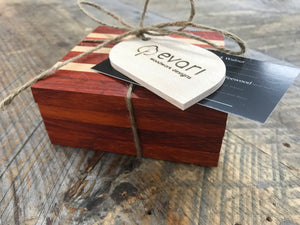 Coasters  - Maple & Padauk (Set of 4)
