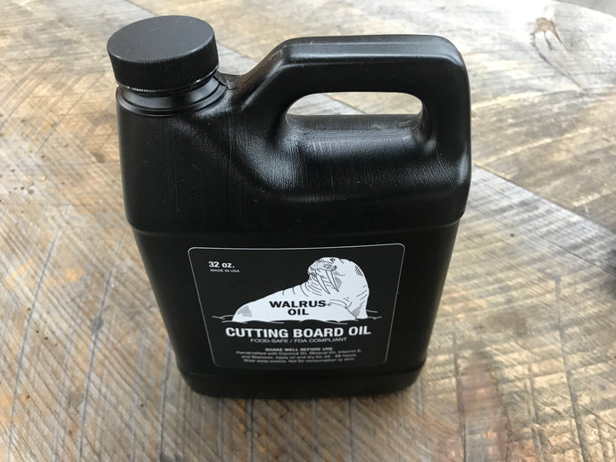 Walrus Oil - Cutting Board Oil 32oz.