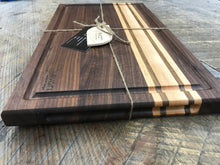Load image into Gallery viewer, Cutting Boards  - Black Walnut, Maple & Bolivian Coffeewood (3 Sizes Available)