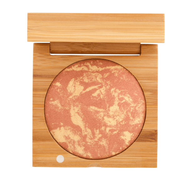 Baked Blush - Copper | Sherwood Green Life all natural organic makeup products, natural non toxic makeup kits, affordable organic beauty products