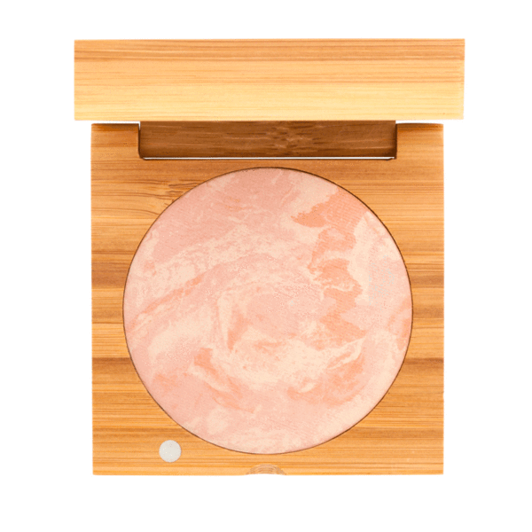 Baked Blush - Peach | Sherwood Green Life all natural organic makeup products, natural non toxic makeup kits, affordable organic beauty products