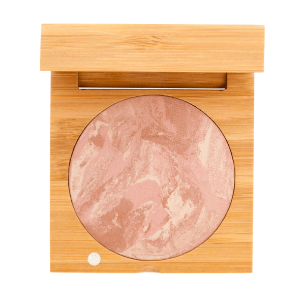 Baked Blush - Rose | Sherwood Green Life all natural organic makeup products, natural non toxic makeup kits, affordable organic beauty products