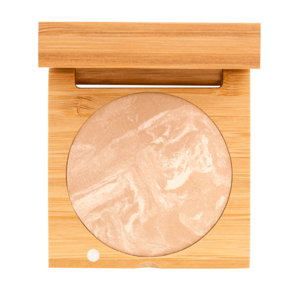 Baked Foundation - Medium Beige | Sherwood Green Life all natural organic makeup products, natural non toxic makeup kits, affordable organic beauty products