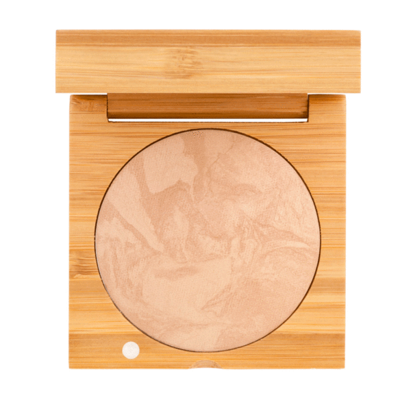 Baked Foundation - Medium Dark | Sherwood Green Life all natural organic makeup products, natural non toxic makeup kits, affordable organic beauty products