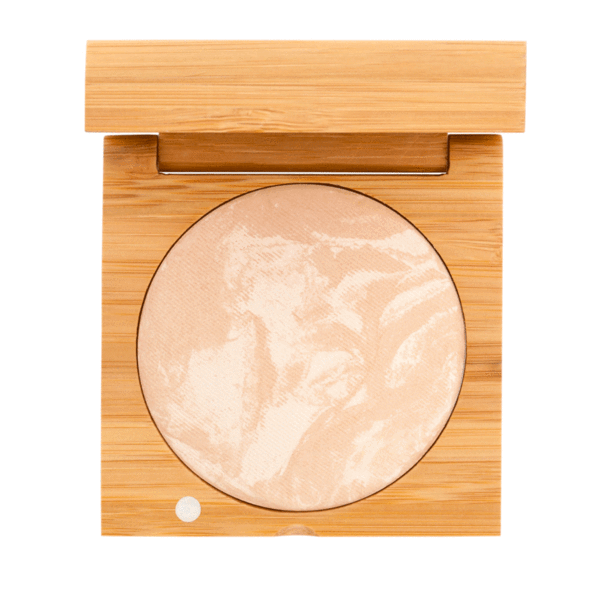 Baked Foundation - Light | Sherwood Green Life all natural organic makeup products, natural non toxic makeup kits, affordable organic beauty products