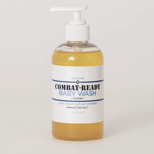 Combat Ready Baby Wash - | Sherwood Green Life natural children's bath products, no silicone no paraben no sulfate shampoo, natural and non toxic personal care products