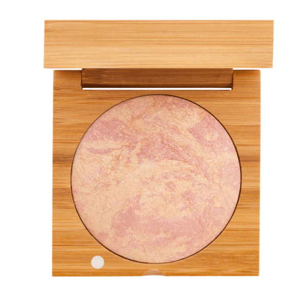 Baked Highlighting Blush - Endless Summer | Sherwood Green Life all natural organic makeup products, natural non toxic makeup kits, affordable organic beauty products