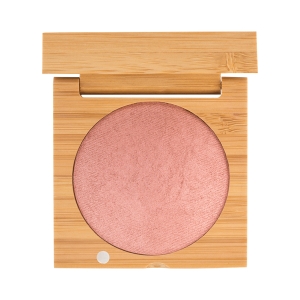 Baked Highlighting Blush - Lily | Sherwood Green Life all natural organic makeup products, natural non toxic makeup kits, affordable organic beauty products