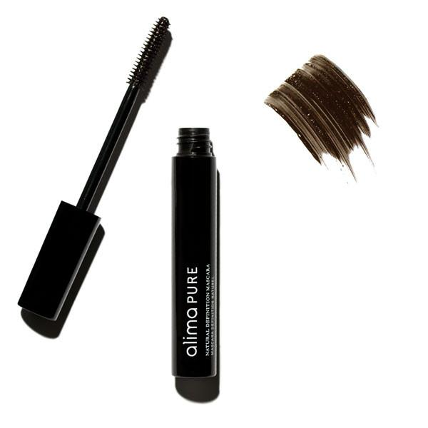 Natural Definition Mascara - Brown | Sherwood Green Life all natural organic makeup products, natural non toxic makeup kits, affordable organic beauty products