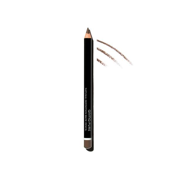 Natural Definition Brow Pencil - Brunette | Sherwood Green Life all natural organic makeup products, natural non toxic makeup kits, affordable organic beauty products