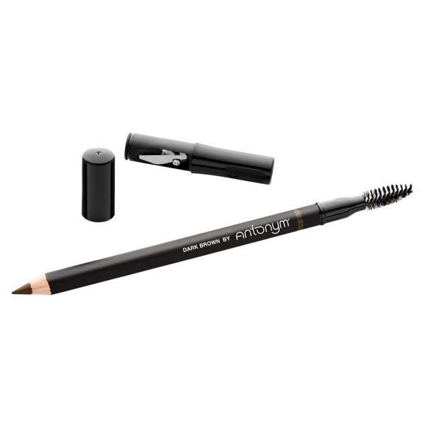 Certified Natural Eyebrow Pencil - Dark Brown | Sherwood Green Life all natural organic makeup products, natural non toxic makeup kits, affordable organic beauty products