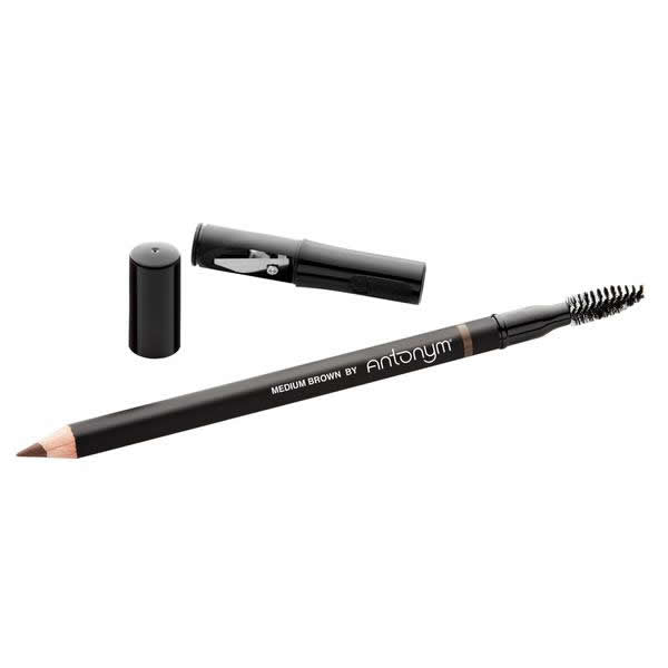Certified Natural Eyebrow Pencil - Medium Brown | Sherwood Green Life all natural organic makeup products, natural non toxic makeup kits, affordable organic beauty products