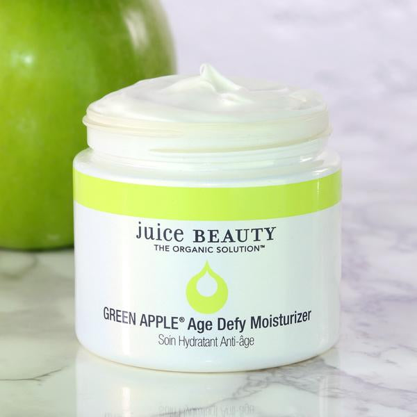 Green Apple Age Defy Moisturizer - | Sherwood Green Life green tea skincare products, sulfate free skincare products, all natural organic skincare store