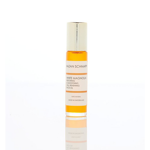White Magnolia Restoring & Smoothing Cell Renewing Face Oil Roller
