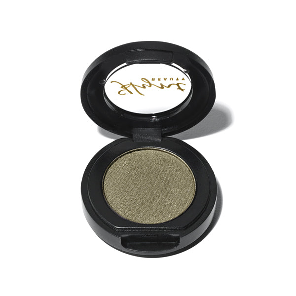 PERFETTO Pressed Eye Shadow Singles - Khaki Star | Sherwood Green Life all natural organic makeup products, natural non toxic makeup kits, affordable organic beauty products