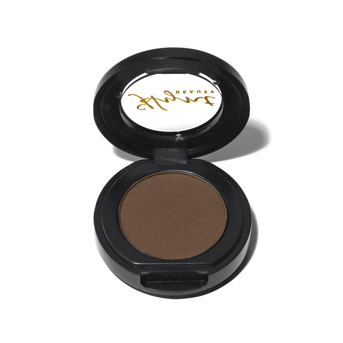 PERFETTO Pressed Eye Shadow Singles - Winter Cocoa | Sherwood Green Life all natural organic makeup products, natural non toxic makeup kits, affordable organic beauty products