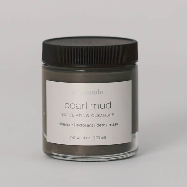 Pearl Mud 4 oz. - | Sherwood Green Life skincare without toxic chemicals, all natural skincare routine products, organic vegan skincare products