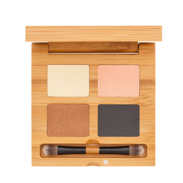 Eyeshadow Quattro - Croisette | Sherwood Green Life all natural organic makeup products, natural non toxic makeup kits, affordable organic beauty products