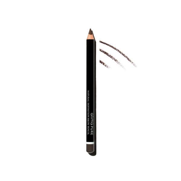 Natural Definition Brow Pencil - Raven | Sherwood Green Life all natural organic makeup products, natural non toxic makeup kits, affordable organic beauty products
