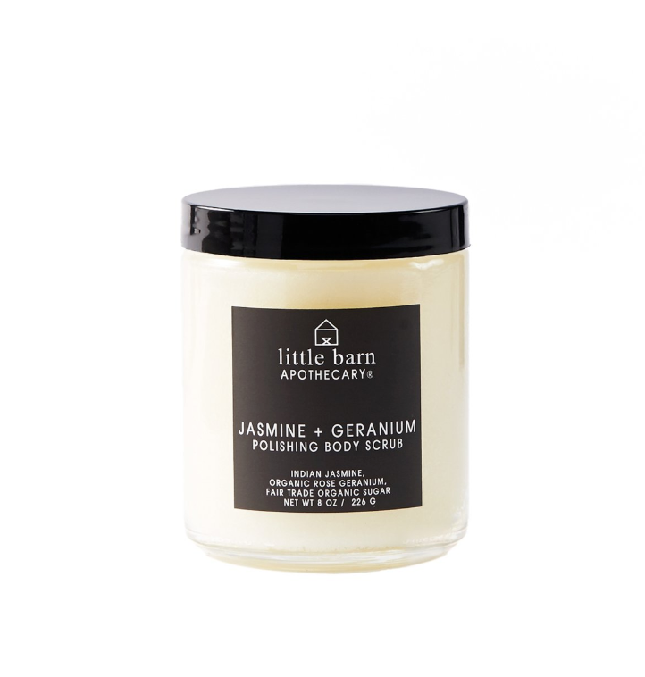Jasmine + Geranium Polishing Body Scrub