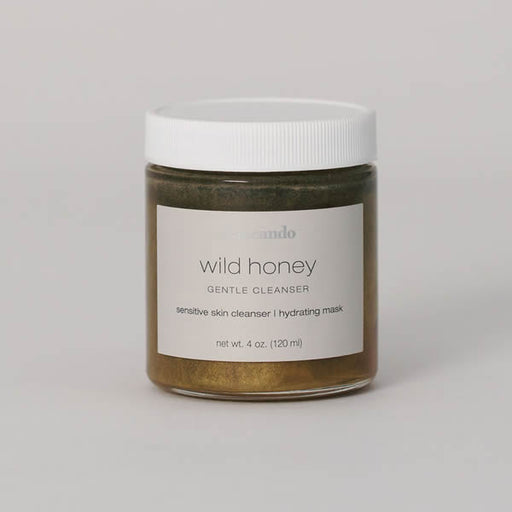 Wild Honey Gentle Cleanser - | Sherwood Green Life skincare without toxic chemicals, all natural skincare routine products, organic vegan skincare products