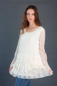 Layered Lace Tunic