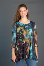 Load image into Gallery viewer, Lace Sleeve Printed Tunic