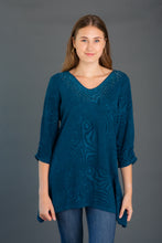 Load image into Gallery viewer, Textured Knit Tunic w/ Jewels
