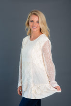 Load image into Gallery viewer, Mixed Media Lace Tunic