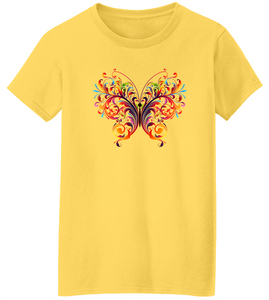 Butterfly Charm Short Sleeve T-Shirt