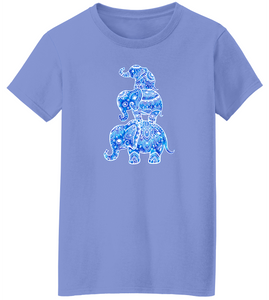 Elephant Three Short Sleeve T-Shirt