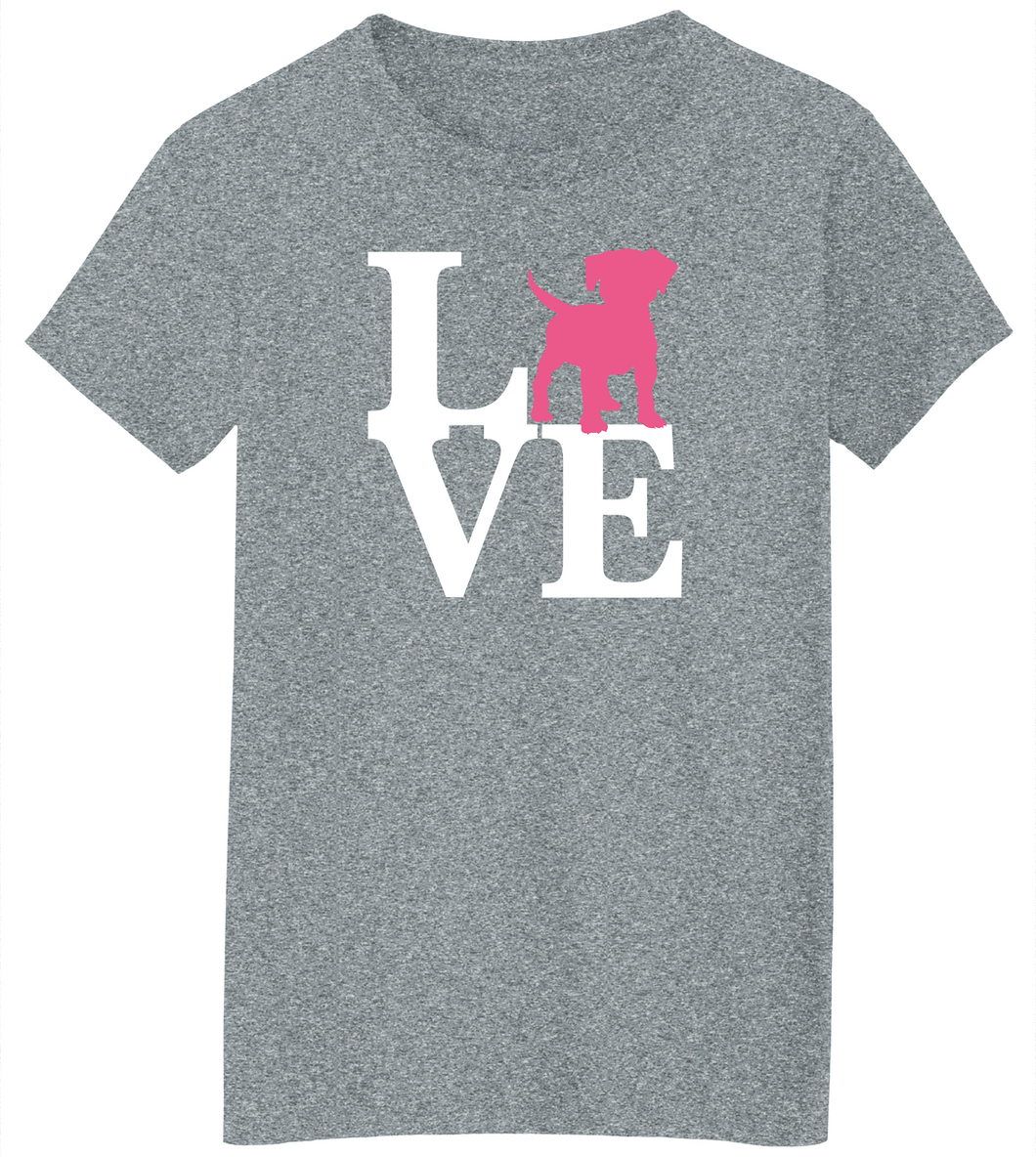 Dog Love Short Sleeve T-Shirt