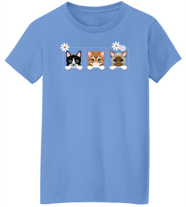 Kitty Cat Trio Short Sleeve T-Shirt