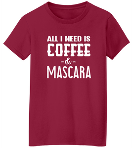 Coffee & Mascara Short Sleeve T-Shirt