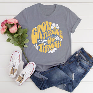 Grow through Junior Slub T-Shirt
