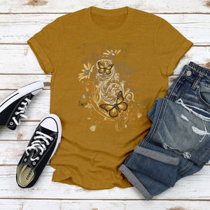 Fall Feeling Junior Slub T-Shirt