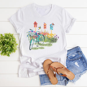 Garden Bike Junior Slub T-Shirt