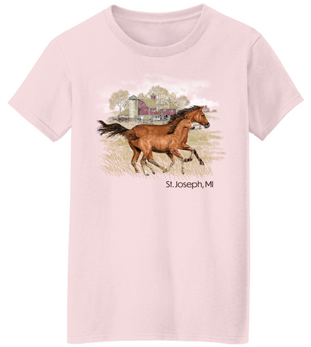 Mare and Foal Short Sleeve T-Shirt